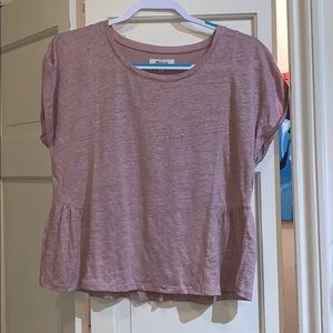 NWT madewell pink swing top small